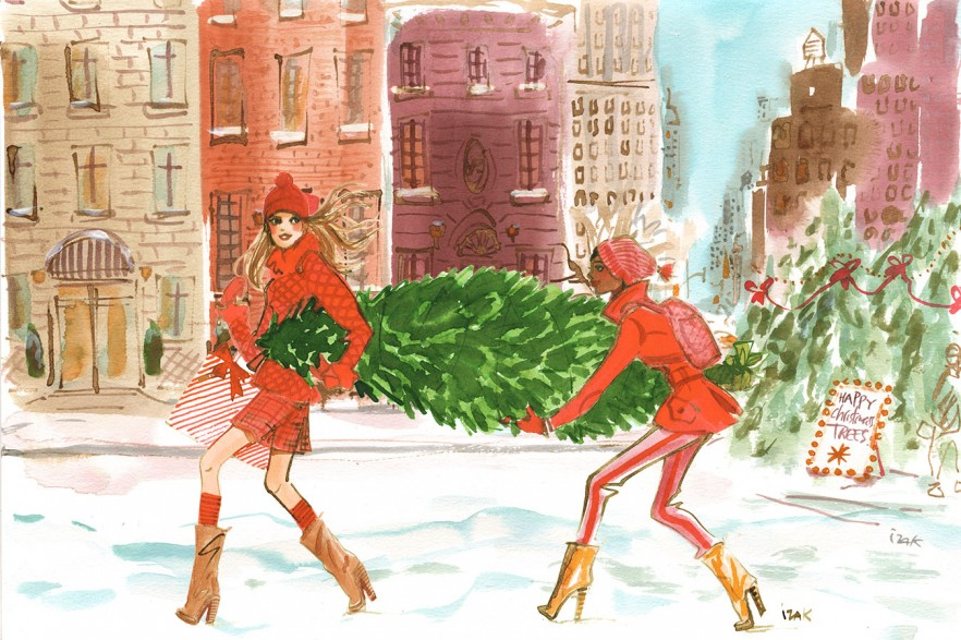illustration-izak-esteelauder-carrying-tree-comp-s.jpg - IZAK | Virginie
